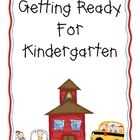 This three-month long packet is designed to be given to incoming kindergarten kiddos to help them prepare for kindergarten over the summer.  It inc...