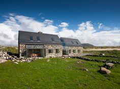 In touch modern stone cottage Ireland