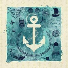 CUADROSTOCK.COM Tienda online de cuadros. Anchor in Love I