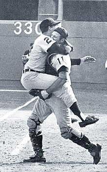 The Detroit Tigers 1968 World Series Victory. I remember watching this on tv in school, 6th grade, Flint St. Matthews.