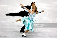 LAKE PLACID, NY - NOVEMBER 13: Benjamin Agosto and Tanith Belbin compete in the Compulsory Dance during the Cancer.Net Skate America at Herb Brooks Arena on November 13, 2009 in Lake Placid, New York. (Photo by Matthew Stockman/Getty Images)