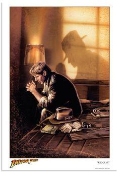RESOLVE Indiana Jones Limited Edition Fine Art Giclée Print on Paper by Brian Rood Acme Archives http://www.amazon.com/dp/B00HLO9UMC/ref=cm_sw_r_pi_dp_Ql45ub1M5Y88T