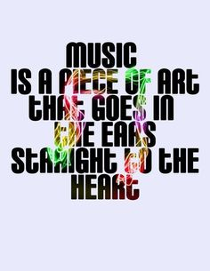 When it's good music yes!