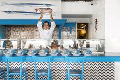 Salvatore Elefante, Chef at Il Riccio Restaurant & Beach Club, Anacapri, Italy - Photo by @gitlchefs