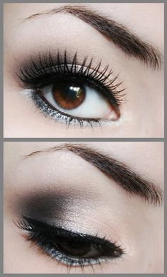 Soft smoky absolutely love - not too overdone.  MAYBE I can pull this one off!