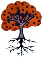 Embroidery Tree Applique Design- Check out the FREE designs at Applique Mama! Applique Designs, Embroidery Designs, Applique Patterns, Embroidery Applique, Machine Embroidery, Embroidery Files, Applique Momma, Art Projects, Sewing Projects