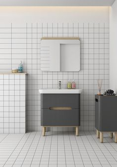 Inspirational Vitra Tiles Bathroom - Delightful to be able to my website, with this period We'll provide you with about […] Small Bathroom Shelves, Bathroom Vanity Units, Wooden Bathroom, Bathroom Furniture, Bathroom Interior, Above The Toilet Storage, Diy Coat Rack, Yellow Bathrooms, Vitra Bathrooms