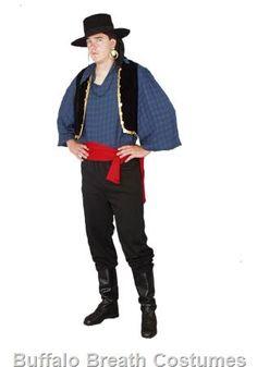 male gypsy costume