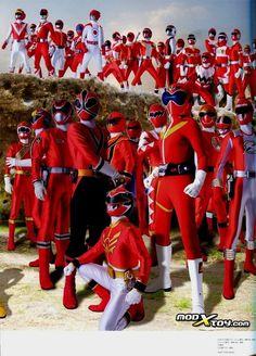 Every Red Ranger Power Rangers Movie 2017, Power Rangers Ninja Storm, Go Go Power Rangers, Kamen Rider, Live Action, Robot Cartoon, Cartoon Tv, Power Rengers, Japanese Superheroes