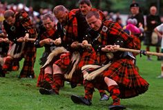 Fancy an old fashioned game of tug o' war? There are heaps of highland games across Scotland this summer, where you can see competitors in sports from highland dancing to the heavy lifting caber toss!