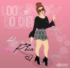 Look do Dia ♡ Ilustração | Bianca Andrade