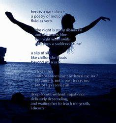DANCE, DREAM, NIGHT, PABLO NERUDA, POETRY, SLEEP, XISCA