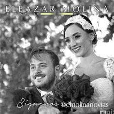 Agradecidos con nuestra amiga @stefaniedadila #NoviasEleazarMolina por estas bellas fotos que nos envió #Headpiece #Tocados #Bride #Novias #Love #Amor #Style #Estilo #Engagement #Compromiso #Wedding #Boda #Matrimonio #Orfebre #JoyeriaDeAutor