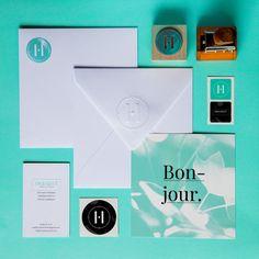 INSIGHT creative studio #branding #identity #paper #media #kit #stamp #letterpress