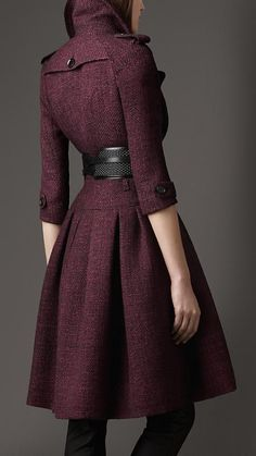 381.  Burberry Coat