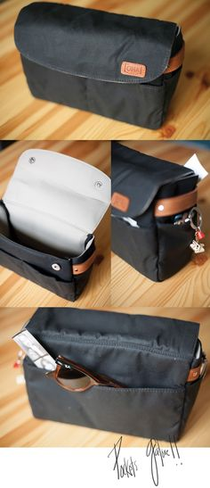 This insert allows you to make any bag, your camera bag. I love this! @onabags