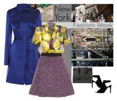 """""""NYFW Spring '16"""" by blueeyed-dreamer ❤ liked on Polyvore featuring National Geographic Home, Yves Saint Laurent, Giambattista Valli, Tory Burch, StreetStyle, NYFW, polyvorecontest and designerfashion"""