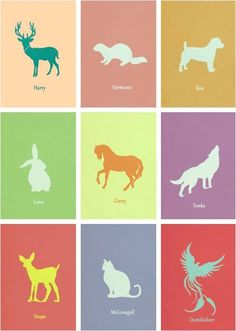 Board idea: whats your patronus? we're all different