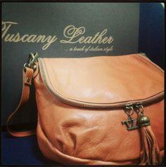 TL Bag TL141223 Borsa morbida a tracolla con nappa - Soft leather shoulder bag with tassel detail - Tuscany Leather
