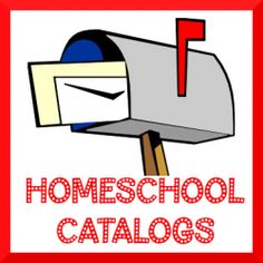 Looking for free homeschool catalogs? Real catalogs printed on paper that you can hold in your hands and not just a website?    Catalogs are great...