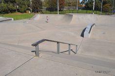 Dulwich Hill Skatepark (Sydney, NSW Australia) #skatepark #skate #skateboarding #skatinit #skateparkreview