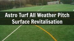 Astro Turf All Weather Pitch Surface Revitalisation http://www.artificialfootballpitch.org.uk/maintenance/ is presented in this video. The video shows revita...