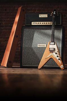Gibson Electric Guitar, Gibson Guitars, Fender Guitars, Electric Guitars, Guitar Amp, Cool Guitar, Gibson Flying V, Guitar Design, Les Paul
