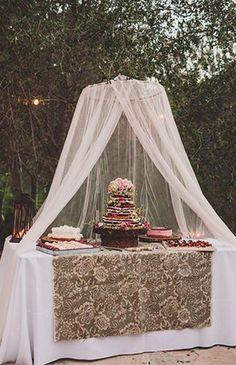 SWEET BACKYARD WEDDING DECOR IDEAS