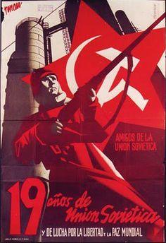 Cartazes da Guerra Civil Espanhola - 1936 a 1939