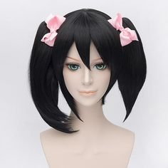 [Love Live] Niconiconi Asymmetric Pig Tails Cosplay Wig with Bangs SP152609