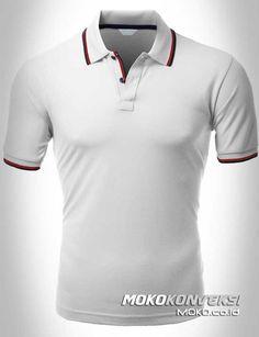 Model Kaos Berkerah Warna Orange Baju Polo Shirt Warna