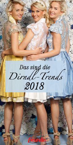 Wir zeigen Ihnen die Musthaves für das Oktoberfest 2018 und welche Dirndl-Trends Sie zum absoluten Wiesn-Madl macht Trends 2018, Girls Dresses, Flower Girl Dresses, American, Wedding Dresses, Blog, German, Fashion, Oktoberfest