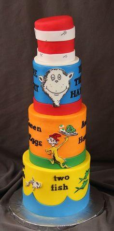 Brock's 1st - by SweetdesignsbyJesica @ CakesDecor.com - cake decorating website