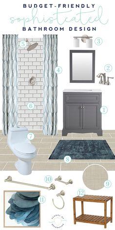 296 best bathroom makovers images in 2019 bathtub home decor rh pinterest com DIY Home Decor Bathroom Small Bathroom Home Decor