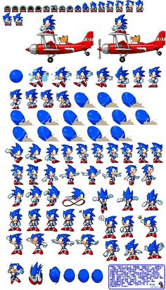 Computer - Sonic Screensaver - Sonic - The Spriters Resource How To Draw Sonic, Diorama, Video Game Sprites, Classic Sonic, Sonic Mania, Sonic Franchise, Villainous Cartoon, Frame By Frame Animation, 8bit Art