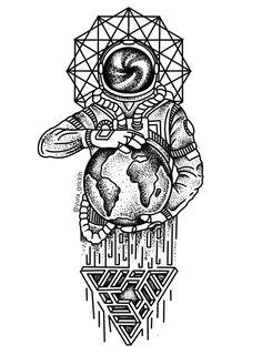 DIY Geometric Animals Fox Plant Temporary Tattoo Women Sexy Waterproof Disposable Black Tatoos Body Art Painting Tattoo Stickers , Brand Name: BAOFULISize: Temporary Tattoo Fake Tattoos, Body Art Tattoos, Cool Tattoos, Tatoos, Small Tattoos, Astronaut Tattoo, Tattoo Sketches, Tattoo Drawings, Art Drawings