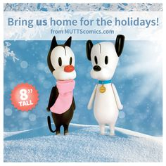 #MUTTScomics #figures for the #holiday