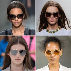 9 Sunglasses You'll Find at New York Fashion Week  #InStyle