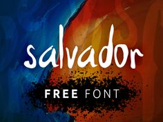 Salvador is a clean and modern free Font script. This font can be very useful for you who design posters, logo and t-shirt and your other projects.