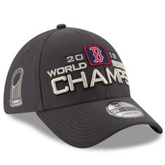 Boston Red Sox New Era 39THIRTY MLB World Series Champions Locker Room Cap  Hat 5ee863a8481d