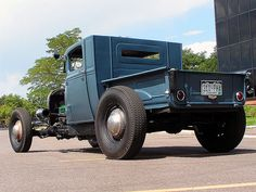 1928 Ford Briggs Truck Special...like the color