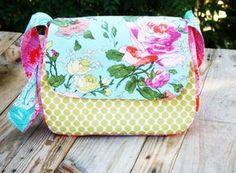 Mini Messenger Bag Sewing Pattern