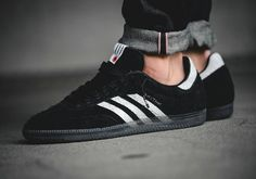 Adidas Samba 'Livestock' is a collaboration between Canadian boutique Livestock and adidas consortium released in 2016 and features a hairy suede upper and a semi-translucent smoked sole