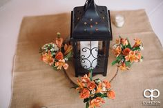 Wedding centerpieces with florals by Renee Burroughs Design. #rbdbride Photo by CuretonPhotography