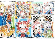 Ojamajo Doremi 16 ~ Umakoshi Yoshihiko Illustrations - purikura 2