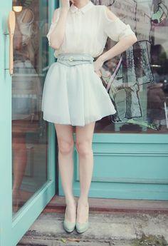 Image about girl in Fashion & Beautiful People (: by Midori Cute Fashion, Fashion Outfits, Womens Fashion, Female Fashion, Cute Skirts, A Line Skirts, Japanese Fashion, Asian Fashion, Ulzzang Fashion