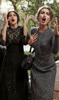Dolce & Gabbana.<3<3<3<3<3<3<3<3<3<3<3<3<3<3<3<3<3<3<3<3<3 fashion consciousness <3<3<3<3<3<3<3<3<3<3<3<3<3<3<3<3<3<3 Looks like some relatives I know!