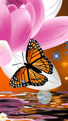 Butterflies by Fantastic Live Wallpapers