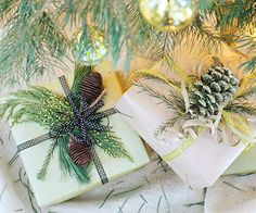 Christmas Package Wrapping Idea