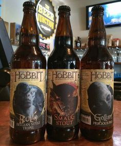 """Gosh I'd love to try a Smaug Stout :D Hobbit Beer 
